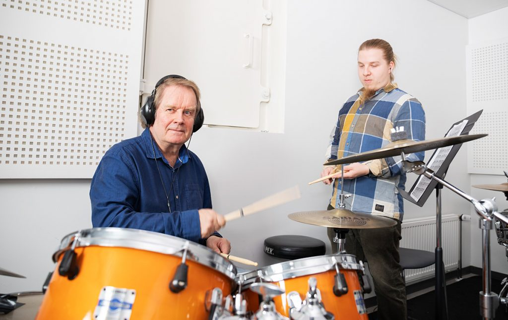 Musiikki, Vuolle opisto, Oulu